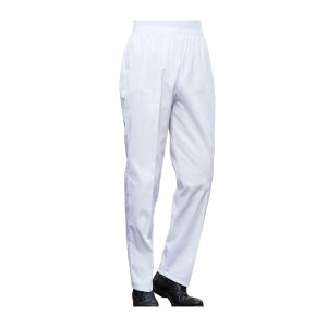 ZKH/震坤行 厨师裤 白色 2XL(180) 1件