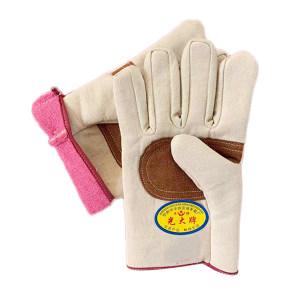 ZKH/震坤行 手掌加固帆布手套 H-4 均码 1副