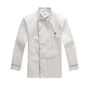 ZKH/震坤行 厨师服 白色 2XL(180) 1件
