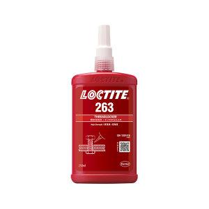 LOCTITE/乐泰 螺纹锁固胶-高强度型 263 红色 高强度 溶油性好 250mL 1瓶