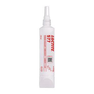 LOCTITE/乐泰 管螺纹密封胶-中强度型 577 光滑暗黄色 螺纹密封胶 250mL 1瓶