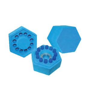 CRYSTAL/精骐 程序降温盒 FZC-01 六角形 1件