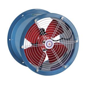XINGYI/兴益 SF系列低噪声轴流通风机 2 管道式 配用电机0.12kW-2单相 2900r/min 1300m³/h 1台