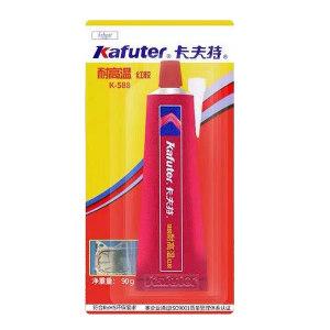 KAFUTER/卡夫特 免垫片红胶 K-588 红色 90g 1支
