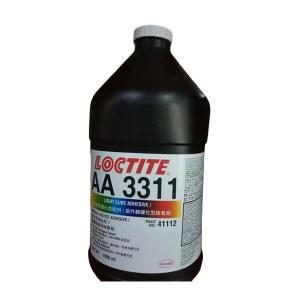 LOCTITE/乐泰 UV固化胶-低粘度医疗级 3311 透明 1L 1桶