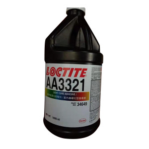LOCTITE/乐泰 UV固化胶-触变性医疗级 3321 透明 1L 1桶