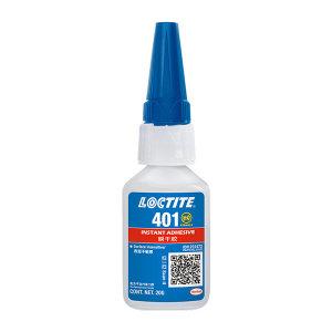 LOCTITE/乐泰 瞬干胶-低粘度通用型 401 透明 中粘度 20g 1支