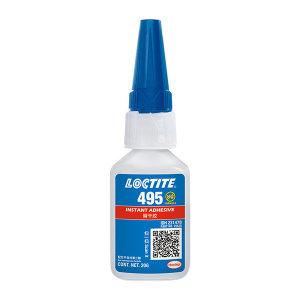 LOCTITE/乐泰 瞬干胶-超低粘度塑料金属粘接型 495 通用型 20g 1支