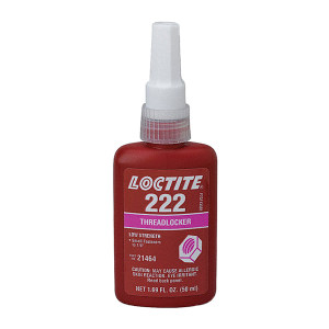 LOCTITE/乐泰 螺纹锁固胶-低强度型 222 紫色 低粘度 低强度 50mL 1支