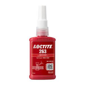 LOCTITE/乐泰 螺纹锁固胶-高强度型 263 红色 高强度 溶油性好 50mL 1支