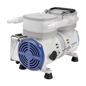 WIGGENS/维根斯 防腐蚀隔膜真空泵 A410 电压220V/50Hz 额定功率95W 额定电流0.6A 极限真空度13mbar 最大抽气速度25L/min 1台