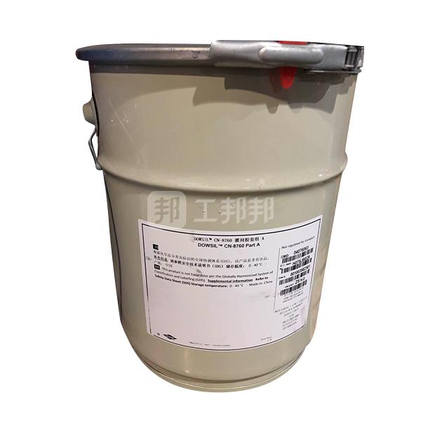 DOWSIL/陶熙 有机硅导热灌封胶-经济型 CN-8760-A 经济型 A组份 白色桶 25kg 1桶