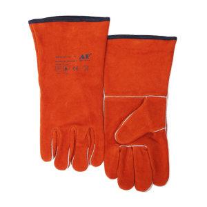 AP/友盟 锈橙色经济款烧焊手套 2102 L 35cm 1副