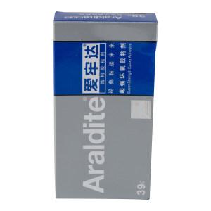 ARALDITE/爱牢达 超强环氧胶粘剂 SUPER-STRENGTH-EPOXY 2011 DIY牙膏装 重量比A:B=1:1 39g 1盒