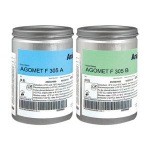 ARALDITE/爱牢达 丙烯酸结构粘接胶-低粘度快固型 F305B 主剂 B组份(+A+POWD) 0.8kg 1罐