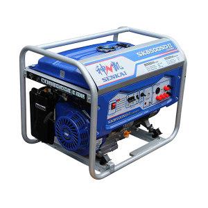 SENKAI/神凯 汽油发电机组5.0/5.5KW/单三相/手动/无轮子手把/AP190F SK6500SD-II 1台