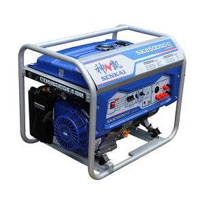 SENKAI/神凯 汽油发电机组6.5/7.0KW/单三相/电动/无轮子手把/AP190F SK8500SD-Ⅱ 1台