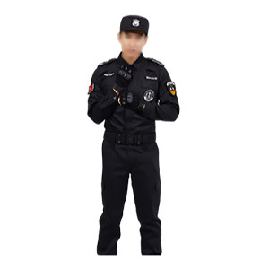 ZKH/震坤行 夏款长袖保安服套装 保安服 165 不含帽子腰带及保安章 1套