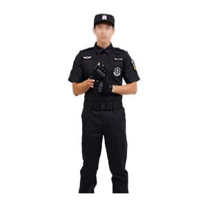 ZKH/震坤行 夏款短袖保安服套装 保安服 160 不含帽子腰带及保安章 1套