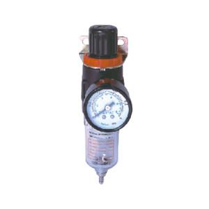 AIRTAC/亚德客 AFR系列过滤调压阀 AFR20001 过滤精度40μm 接口Rc1/4 差压排水式 附压力表 1个