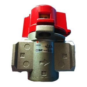 SMC VHS30系列残压释放三通阀 VHS30-03A 接口Rc3/8 1个