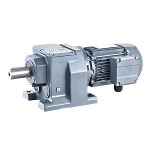 KFT/凯夫特 斜齿轮减速电机 DRF97ME132M4 380V 50Hz IP55/F M1/0 法兰450mm 1台