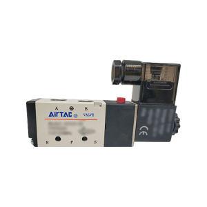 AIRTAC/亚德客 4V200系列电磁阀 4V21008B 两位五通 DIN插座式 接口Rc1/4 DC24V 1个
