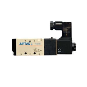 AIRTAC/亚德客 4V200系列电磁阀 4V230C08B 三位五通 DIN插座式 接口Rc1/4 DC24V 1个