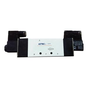AIRTAC/亚德客 4V400系列电磁阀 4V41015B 两位五通 DIN插座式 接口Rc1/2 DC24V 1个