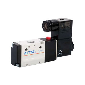 AIRTAC/亚德客 3V200系列电磁阀 3V21008NCB 两位三通 DIN插座式 接口Rc1/4 DC24V 1个