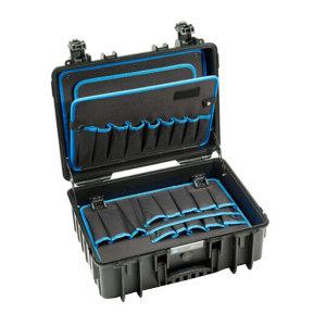 BW/倍威 Jet5000防水安全ABS工具箱(含工具插袋) 117.17P 468×365×185mm 1个