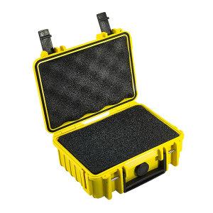BW/倍威 Type500防水安全ABS工具箱(含海绵模块) T-500SI 230×180×90mm 1个