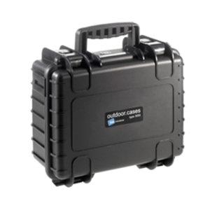 BW/倍威 Type3000防水安全ABS工具箱(含海绵模块) T-3000SI 365×295×170mm 1个