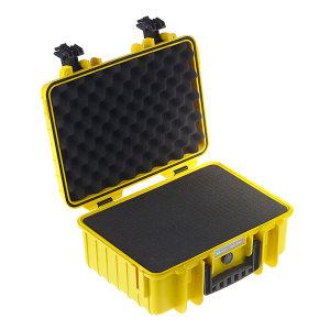 BW/倍威 Type4000防水安全ABS工具箱(含海绵模块) T-4000SI 420×325×180mm 1个