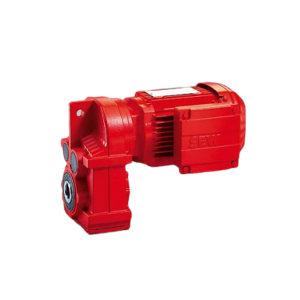 SEW F系列平行轴斜齿轮减速电机 FAF87DRN132M4/C 速比56.75 功率7.5kW 1台
