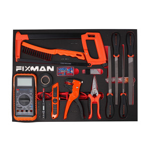 FIXMAN/菲克斯曼 8pcs 放工具车内 F1.ET08 锉刀类EVA套装 1套
