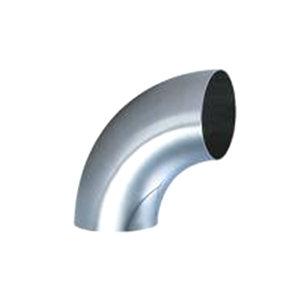 HGPV/鸿冠 食品级焊接弯头 φ25×1.5 304不锈钢 弯角90° ISO标准 镜面抛光 1只