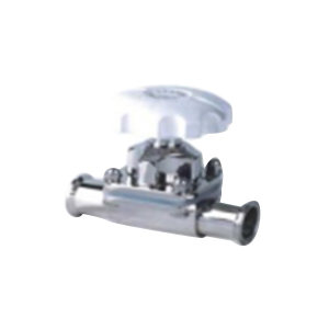 HGPV/鸿冠 食品级卫生级隔膜阀 φ32 快装连接接口 316L不锈钢阀体 公称压力1bar ISO标准 抛光 1只