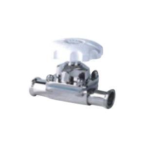HGPV/鸿冠 食品级卫生级隔膜阀 φ45 快装连接接口 316L不锈钢阀体 公称压力1bar ISO标准 抛光 1只