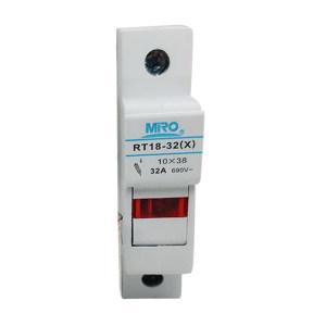 MIRO/茗熔 圆筒帽形熔断器底座 RT18-32X 10只 1盒