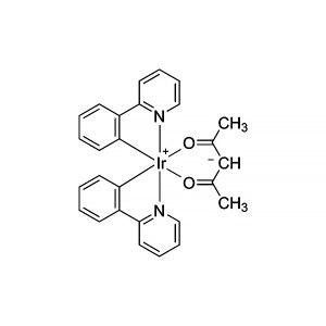 ALADDIN/阿拉丁 乙酰丙酮酸二(2-苯基吡啶)铱 A123009-50mg CAS号337526-85-9 ≥98% HPLC 50mg 1瓶