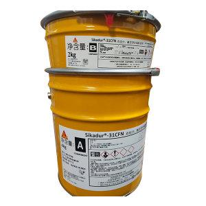SIKA/西卡 双组份触变型环氧粘结剂 31CFN 6kg 灰 1套