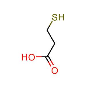 ENERGY CHEMICAL/安耐吉化学 3-巯基丙酸 A010202-25g CAS号107-96-0 98% 25g 1瓶