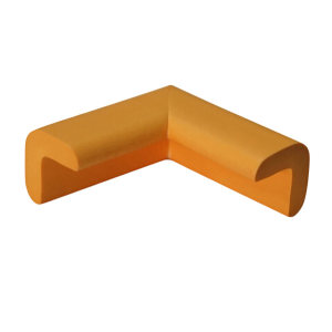SAFEWARE/安赛瑞 经济型防撞护角 11607-8 黄色 22×22×50mm 发泡橡胶材质 8个 1包