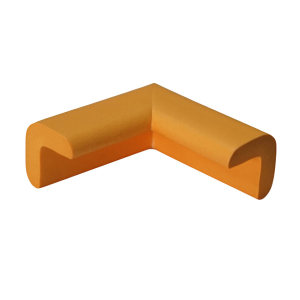 SAFEWARE/安赛瑞 经济型防撞护角 11608-8 黄色 31×31×70mm 发泡橡胶材质 8个 1包