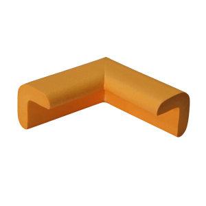 SAFEWARE/安赛瑞 经济型防撞护角 11609-8 黄色 48×48×70mm 发泡橡胶材质 8个 1包