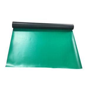 SAFEWARE/安赛瑞 PVC防静电台垫 10980 绿色 1m×10m×2mm 1块
