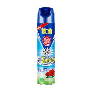 LANJU/榄菊 杀虫气雾剂(玫瑰花香速杀型) 6902312305511 500mL×12罐 1箱