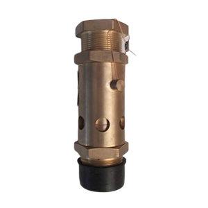 FUYU/富羽 弹簧式安全阀 A28X-16T-DN8 外螺纹接口 铜材阀体 整定压力0.85MPa 1台