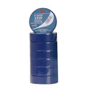 3J PVC电气绝缘胶带 1310 蓝色 0.13mm×18mm×10m 10卷 1筒